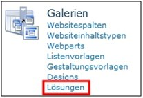 Webparts und Sandbox-Solutions-SharePoint