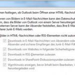 Automatischer Download von Bildern in Microsoft Outlook von cojama
