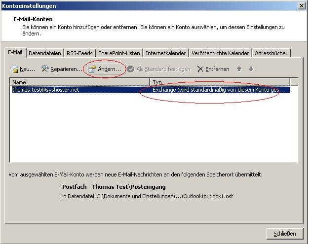 Outlook_Postfach_Exchange_Konto_ändern
