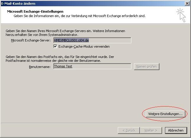 Outlook_Postfach_Exchange_Konto_ändern_weitere_Einstellungen