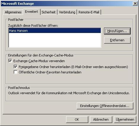 Outlook_Postfach_hinzufügen_02_Benutzer_Liste