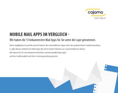 Mail App Tetsbericht